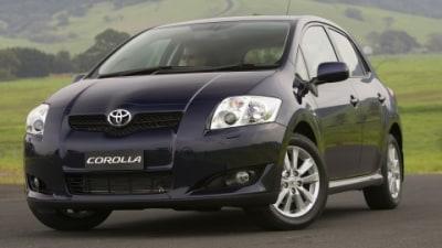 2007 Toyota Corolla drivetrain information