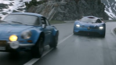 Renault Pits A110-50 Concept Against Original Alpine A110: Video