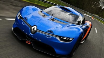 Renault Alpine A110-50 Concept Surfaces
