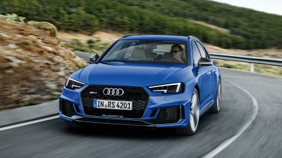 New Audi RS4 Avant detailed