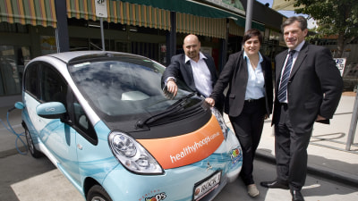 Better Place Australia Announces First EV Charging Point In Canberra