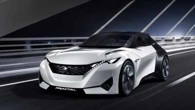 Peugeot Sounds-off With Fractal Concept - Video