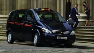 Mercedes Benz Vito Steps Up For Duty As London Black Cab