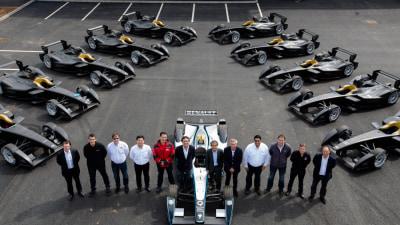 Formula E Teams Take Deliver-E