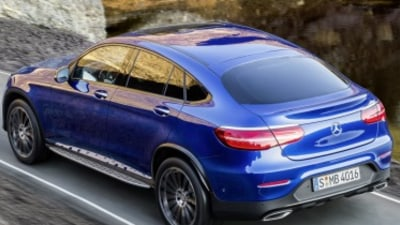 Mercedes-Benz GLC Coupe revealed
