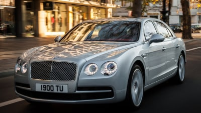 Bentley Flying Spur Gets V8 Power, Continental GT Speed Updated