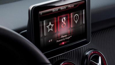 Mercedes-Benz Showcases Google Services Integration At I/O