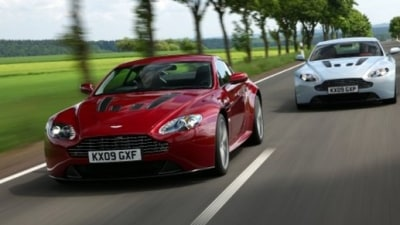 Aston Martin V12 Vantage… On Facebook?