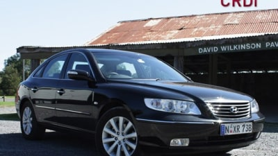 2009 Hyundai Grandeur CRDi Road Test Review