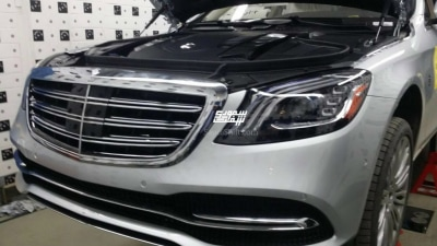 Facelifted Mercedes-Benz S-Class Spied