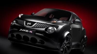 Nissan Juke-R: The Matte Black Monster