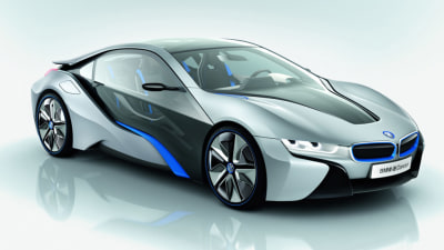 BMW i8 Hybrid Sports Car Revealed