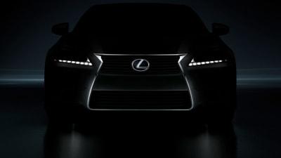 2013 Lexus GS Teased Ahead Of Pebble Beach Debut