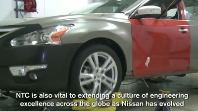 2013 Nissan Altima Slips Out In Video Slip-up