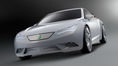 SEAT IBE Electric Vehicle Concept Revealed At Geneva