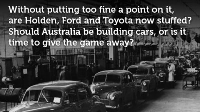 Poll: Dead Or Alive, Australian Car Manufacturing