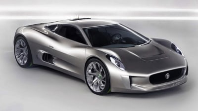 Jaguar C-X75 Coming At Last... To The Silver Screen: Report
