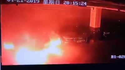 China orders automakers to inspect electric cars after fires
