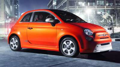 Electric Fiat 500 Unveiled In LA