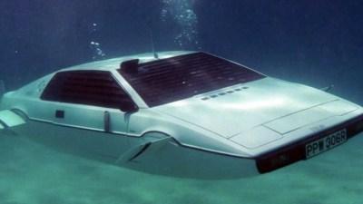 James Bond Lotus Espirt Submarine replica prop available for auction