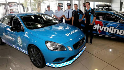 Volvo Hands Over S60 Polestar To NSW Police, Pursuit Not On The Cards