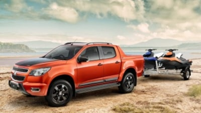 Holden launches Ford Ranger Wildtrak rival