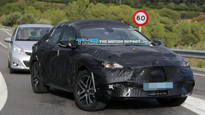 Infiniti QX30 SUV Spied Testing