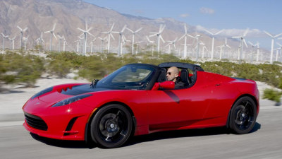 Tesla Roadster 2.5 Unveiled Ahead Of Model S Debut