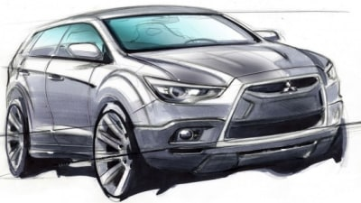 2011 Mitsubishi CX Previewed In Official Rendering; Spied Testing