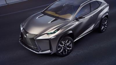 Lexus LF-NX Concept Debuts 2.0 Turbo Engine In Tokyo