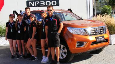 New Nissan Navara D23 NP300 On Show At V8 Supercars Clipsal 500