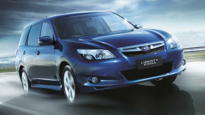 2013 Subaru Liberty Exiga On Sale In Australia, Adds Seventh Seat