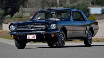 Ford Mustang Number 00002 Set To Smash Price Records At Indianapolis Auction