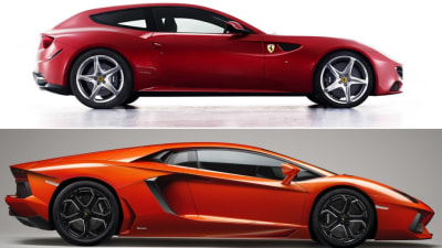 Lamborghini Aventador, Ferrari FF Sold Out For First Year
