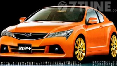 Rumours: Subaru's new sports car to come in RWD flavour only?