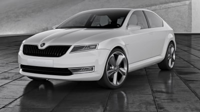 Skoda VisionD Shows New Direction, New Badge
