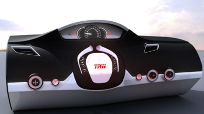 Retractable Steering Wheel To Assist Elderly And Overweight Drivers
