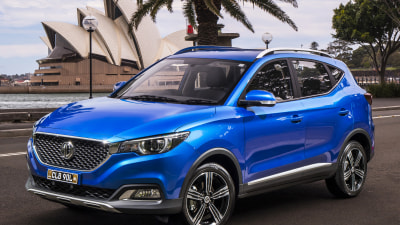 MG ZS small SUV priced from $20,990