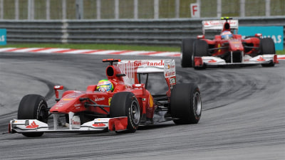 F1: Ferrari Removes 'Barcode' From Cars, Schu Admits 'More Relaxed' But Still Serious