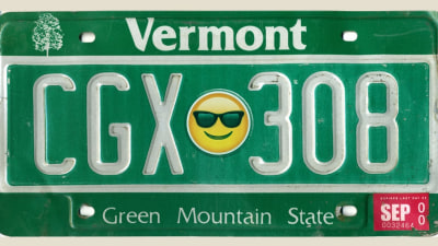 Emoji number plates could soon be coming to the United States