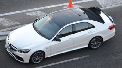 2013 Mercedes-Benz E-Class Caught Undisguised During Filming