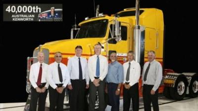 Kenworth Delivers 40,000th Australian-Built Prime Mover