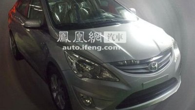 2011 Hyundai Accent Spied Unmasked In Korea