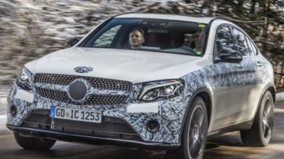 Mercedes-Benz GLC Coupe ride along