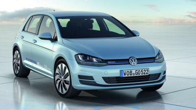 2013 Volkswagen Golf Gets Most Miserly BlueMotion Model Ever