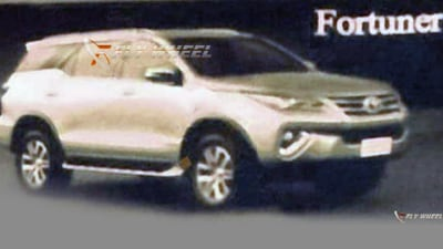 Toyota Fortuner SUV: Australian Launch Confirmed, 2016 Debut Likely