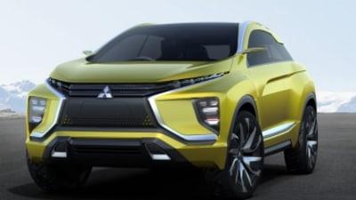 Mitsubishi eX concept previews next-gen ASX