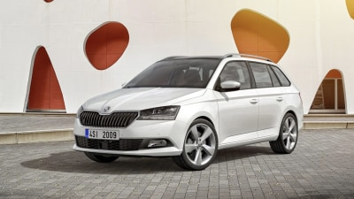 Skoda Unveils Updated Fabia