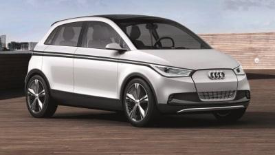 Frankfurt: Audi A2 Concept
