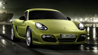 Porsche Cayman R Lightweight Fighter Unveiled
